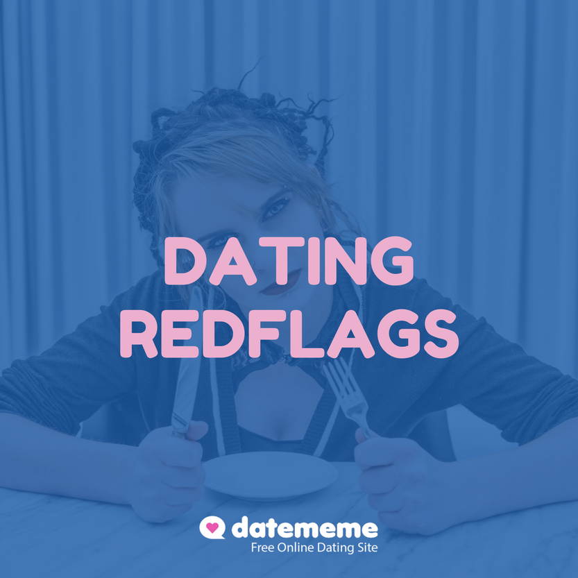 dating site red flags
