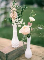 Photo of Romantic & Natural Cape Cod Wedding  Photography: Jen Huang …