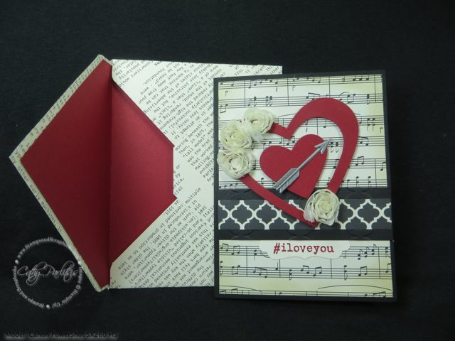 Hashtags and Valentines from StampsAndScrapbooks.com