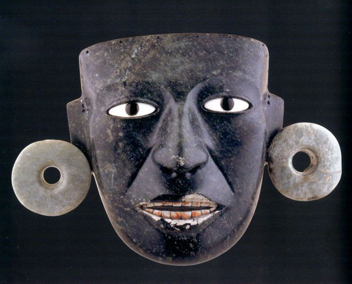 Teotihuacan Masks Arte Lapidario Arte Prehispanico
