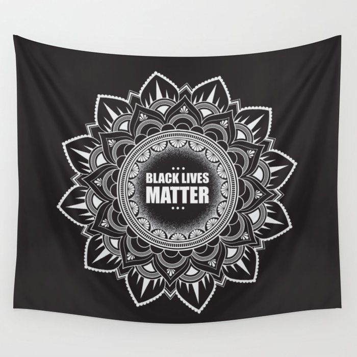 All Sales Donated to For the Gworls, supporting Black Trans folks. Black Lives Matter Wall Tapestry by mbenowitz