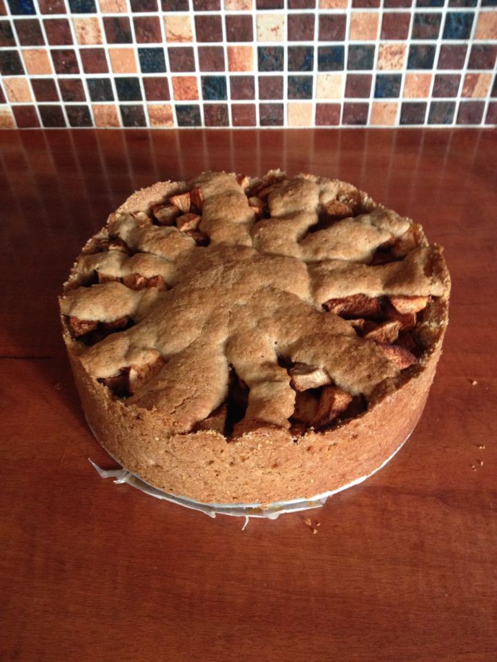 Appel-peer taart