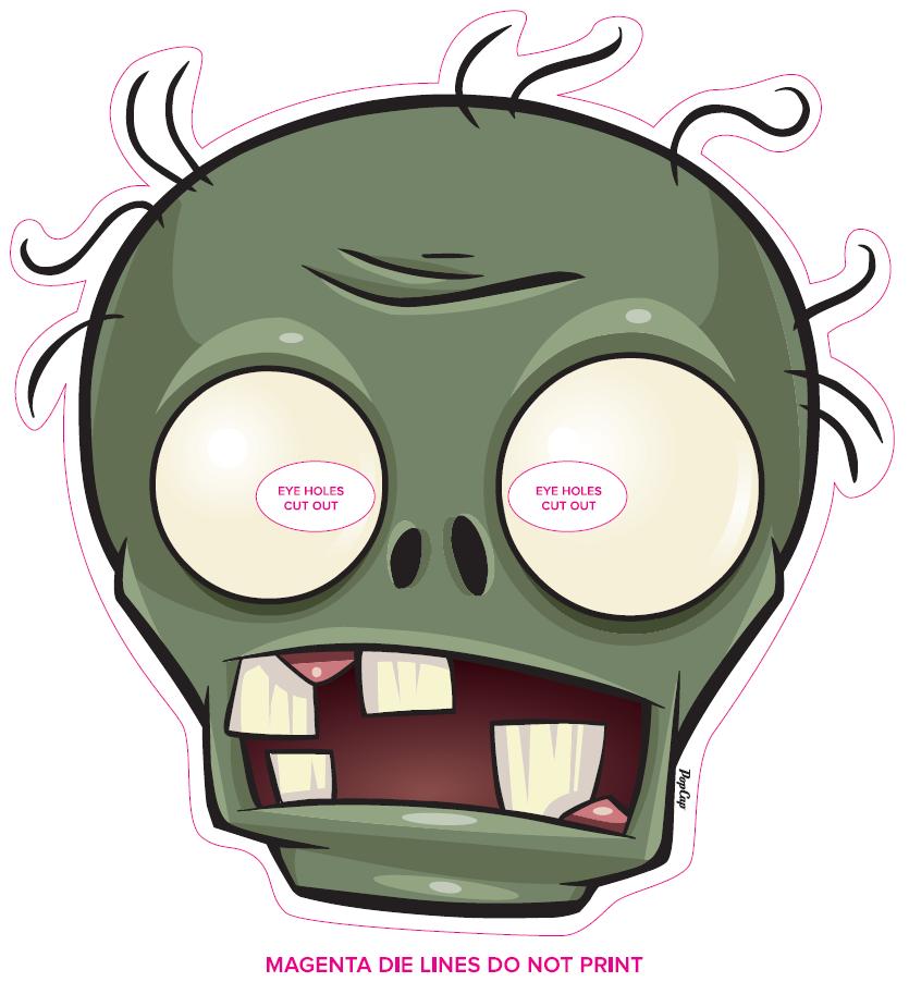 Mask Http Www Stopzombiemouth Com Zombie Birthday Zombie Birthday Parties Zombie Party