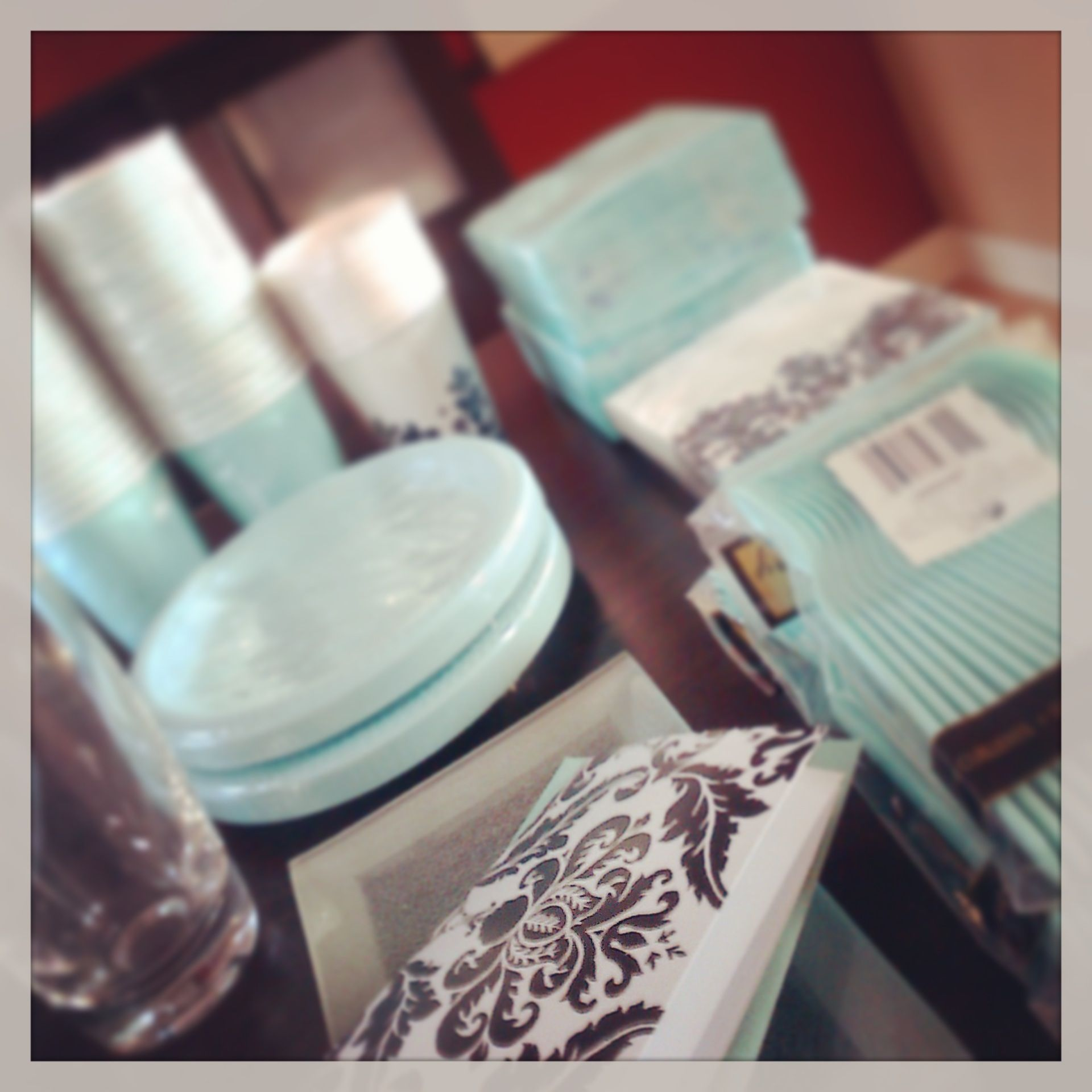 Tiffany blue party supplies home house and decor for Home interior parties products