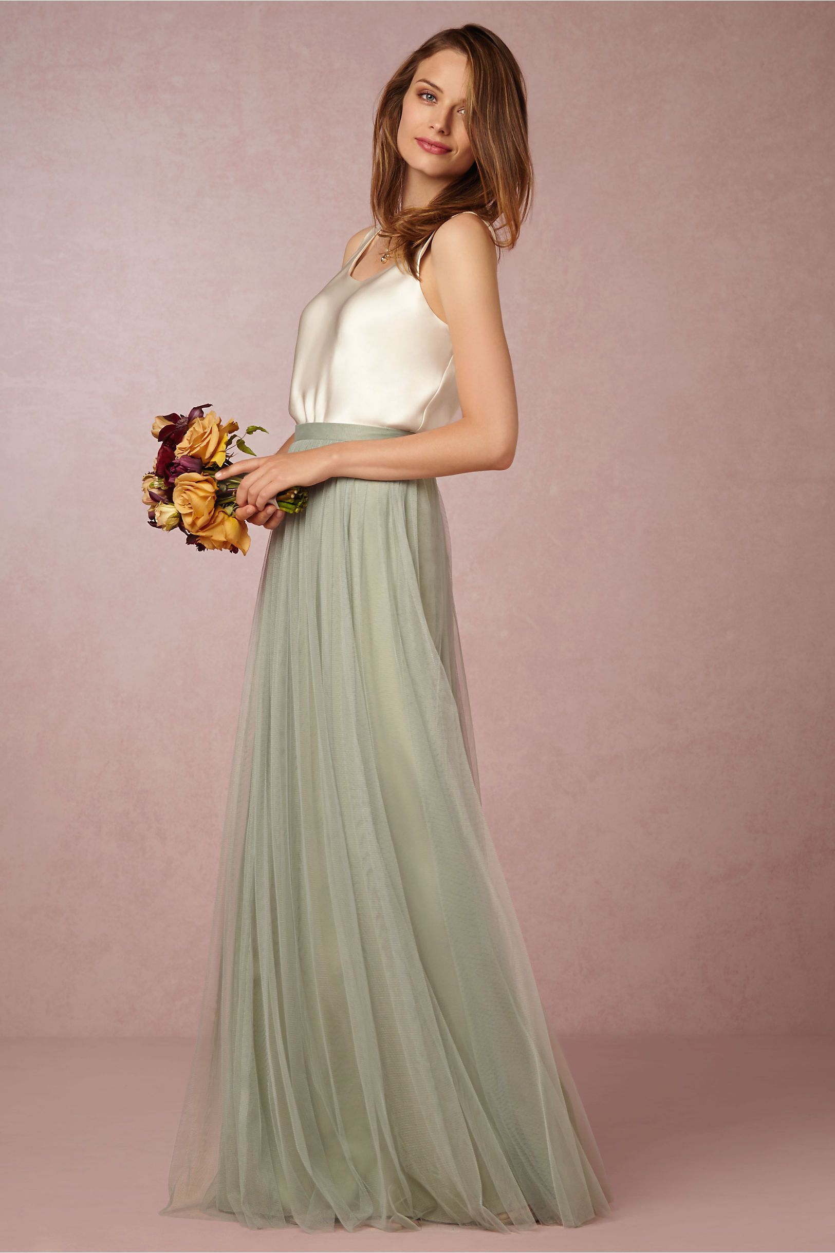 Louise Tulle Skirt in Bridesmaids Bridesmaid Dresses at BHLDN ...