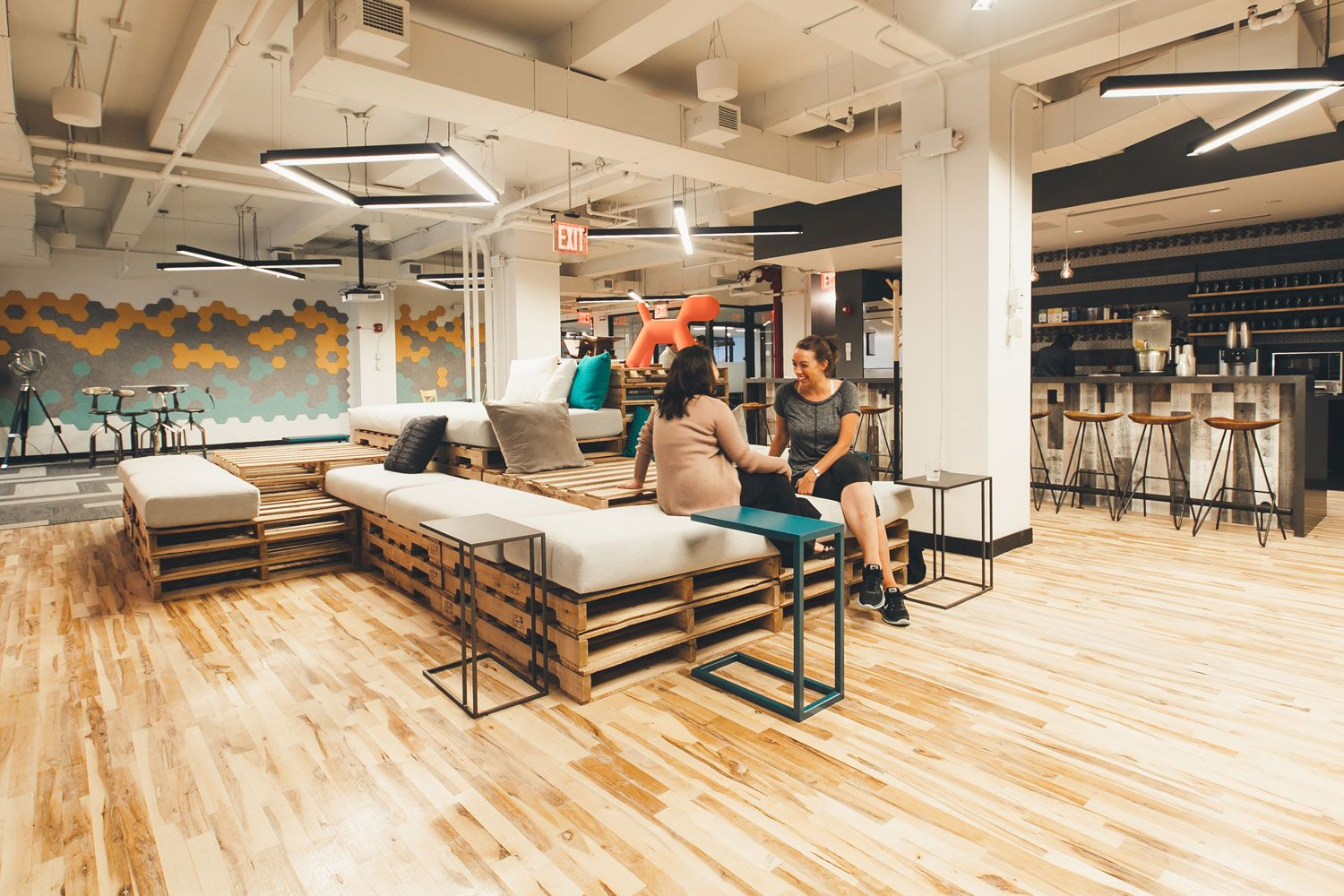 Wework Nomad 2nd Floor Lounge Imagery Coworking Space