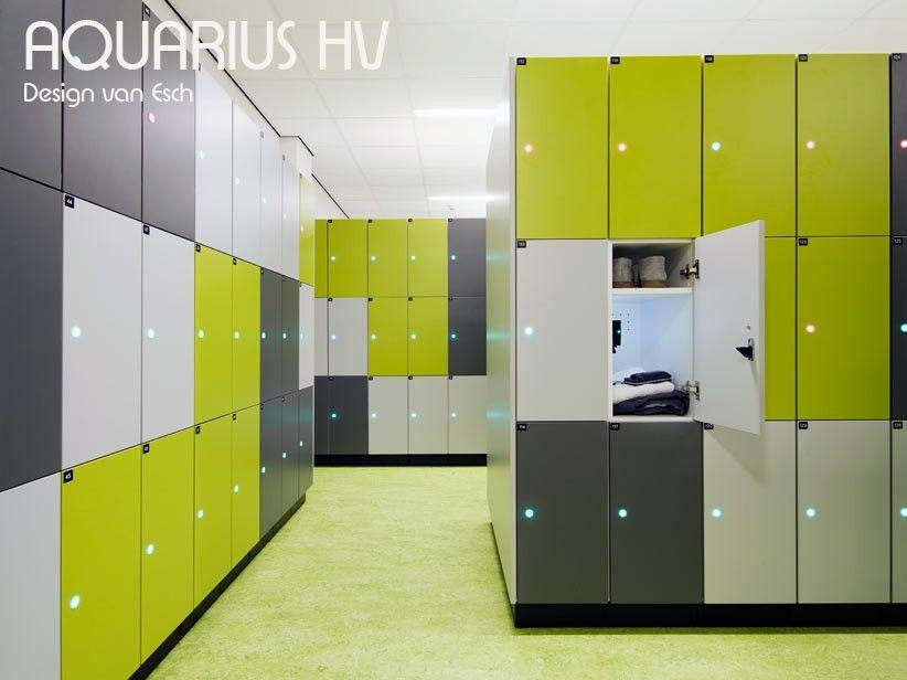 Vestiaires Aquarius Hv 1303 P 3 Casiers Bois 30x52 H 190 Cm Van Esch Casier Bois Design Mobilier Design