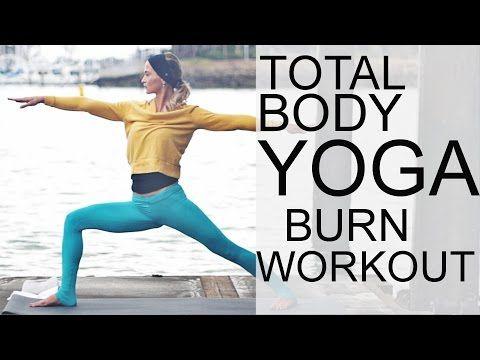 Total Body Yoga Burn Workout - Vinyasa Flow | Yoga Dose
