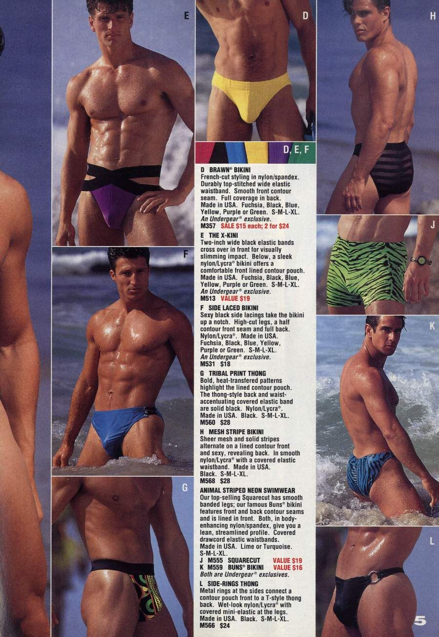 5bc02cf207d0 Undergear | 80's / 90's Men's underwear & swimwear | Men's undies ...