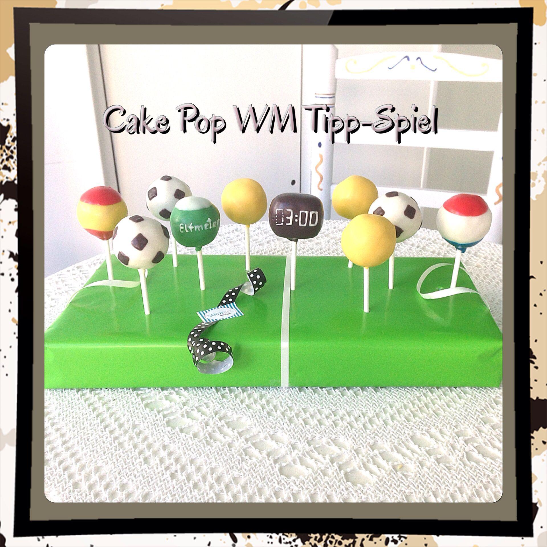 Ideal WM Tipp Spiel Cake Pops sandybel cakepops wm tippspiel n rnberg