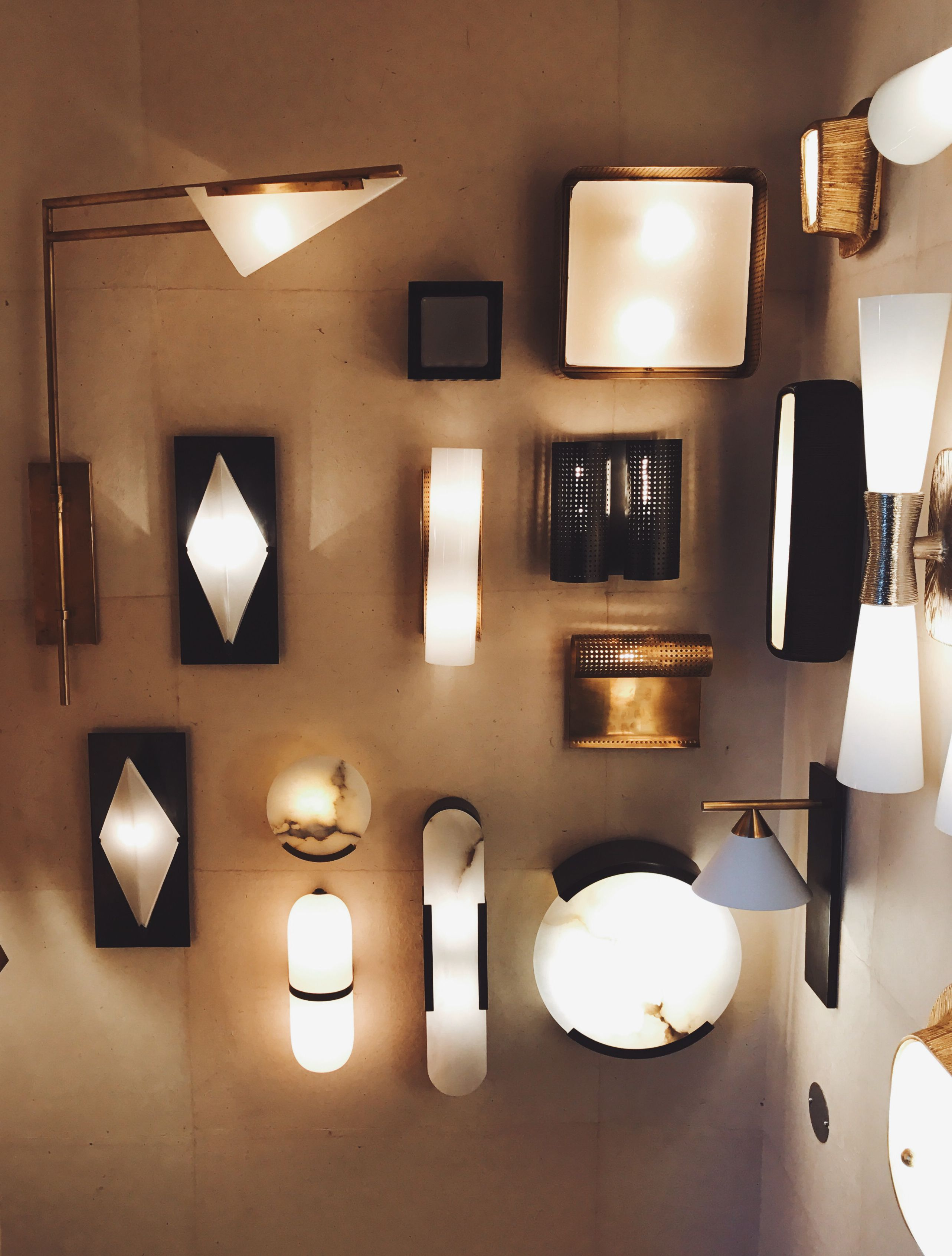 hollywood lighting fixtures. Lighting Wall At The Kelly Wearstler Flagship Boutique In West Hollywood Fixtures P