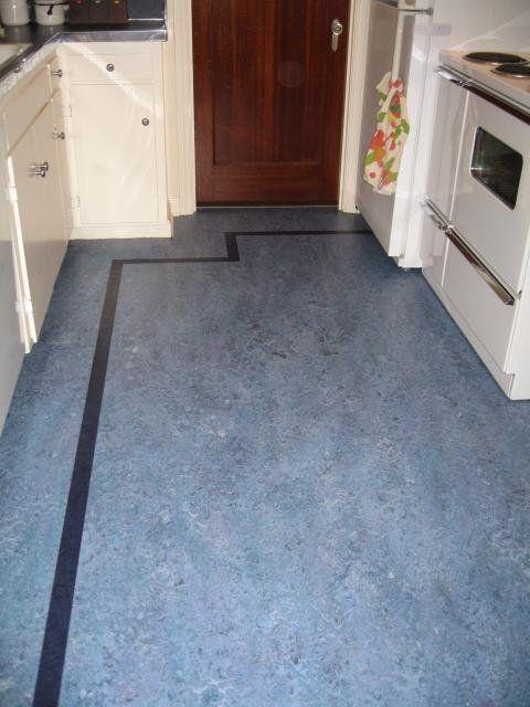 Linoleum Floors And Countertops Brighten Up Dave Frances 1938 Kitchen Linoleum Flooring Linoleum Kitchen Floors House Flooring