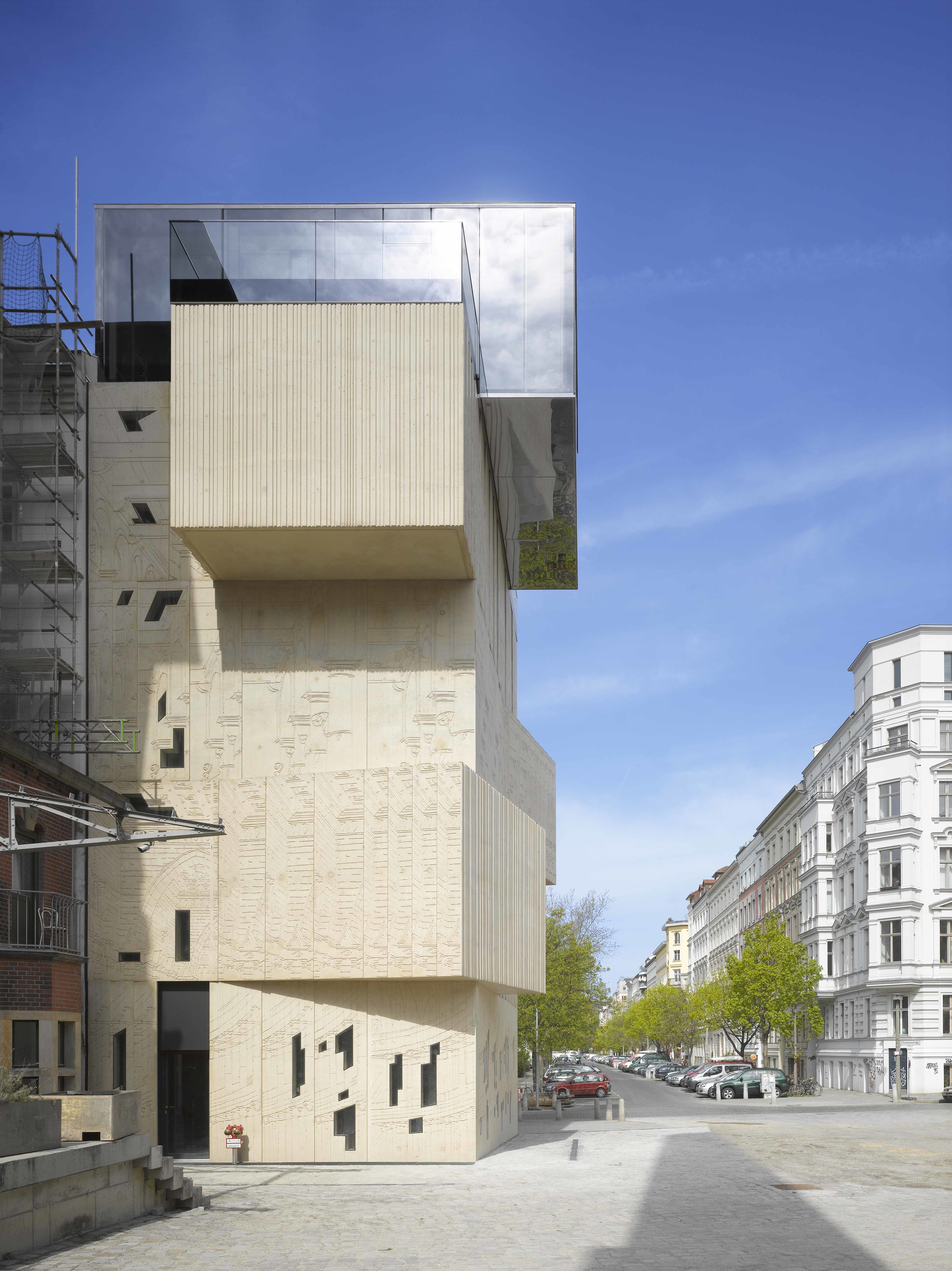 stunning architectural drawing museum in berlin by allie weiss