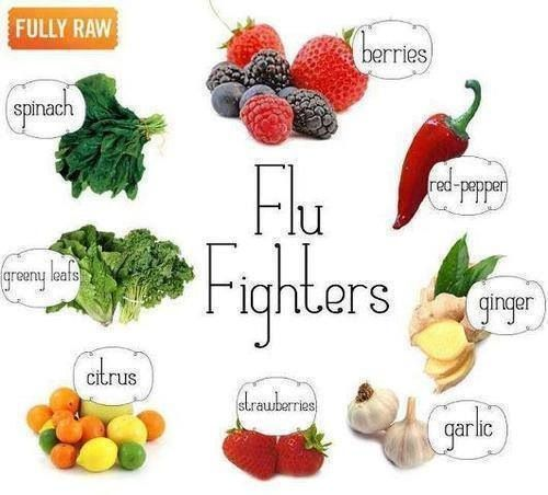 Flu Fighters... Good for you and all great tasting...!!