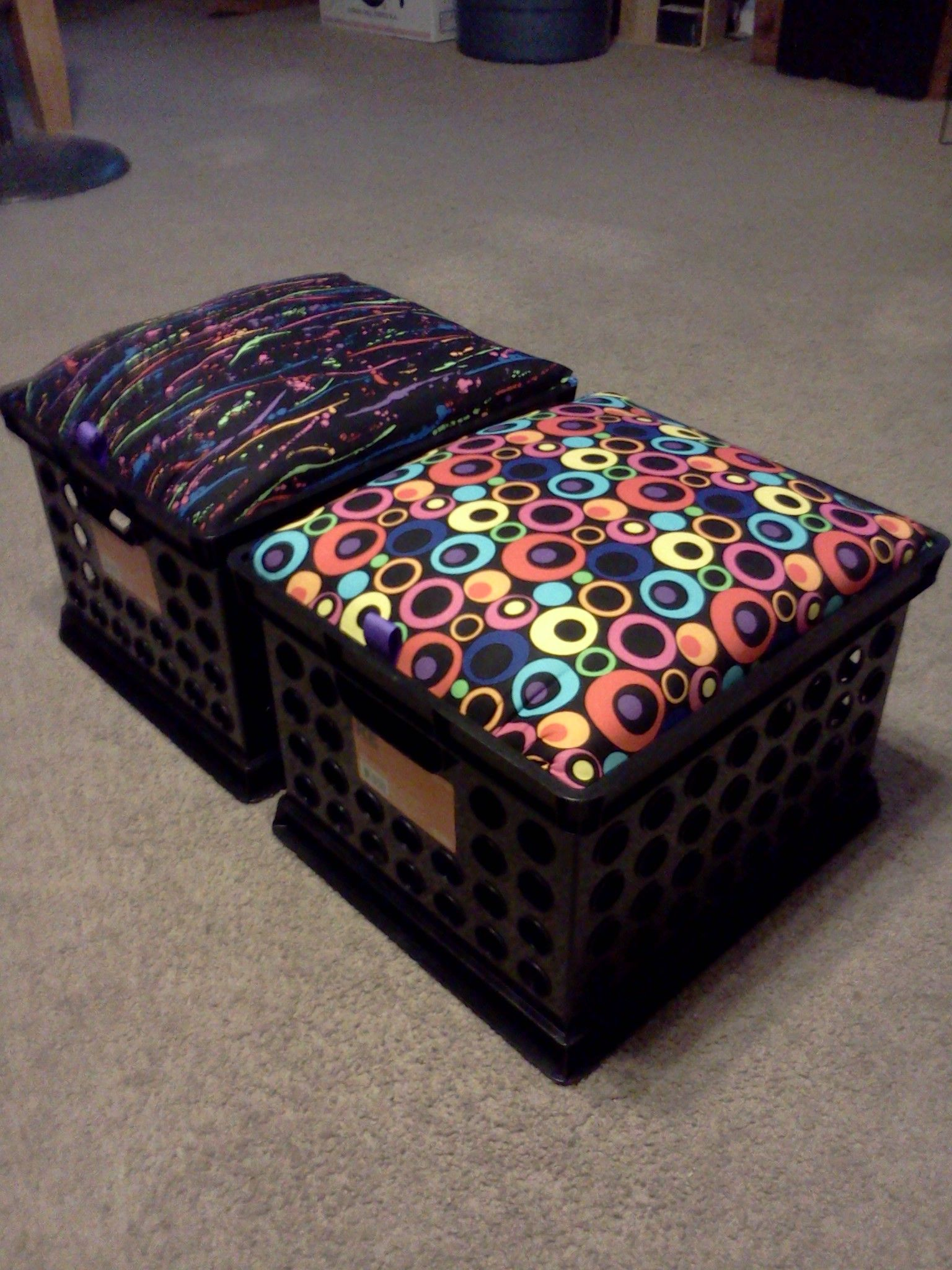 Crate Chairs - Dual purpose chair & storage | Chair