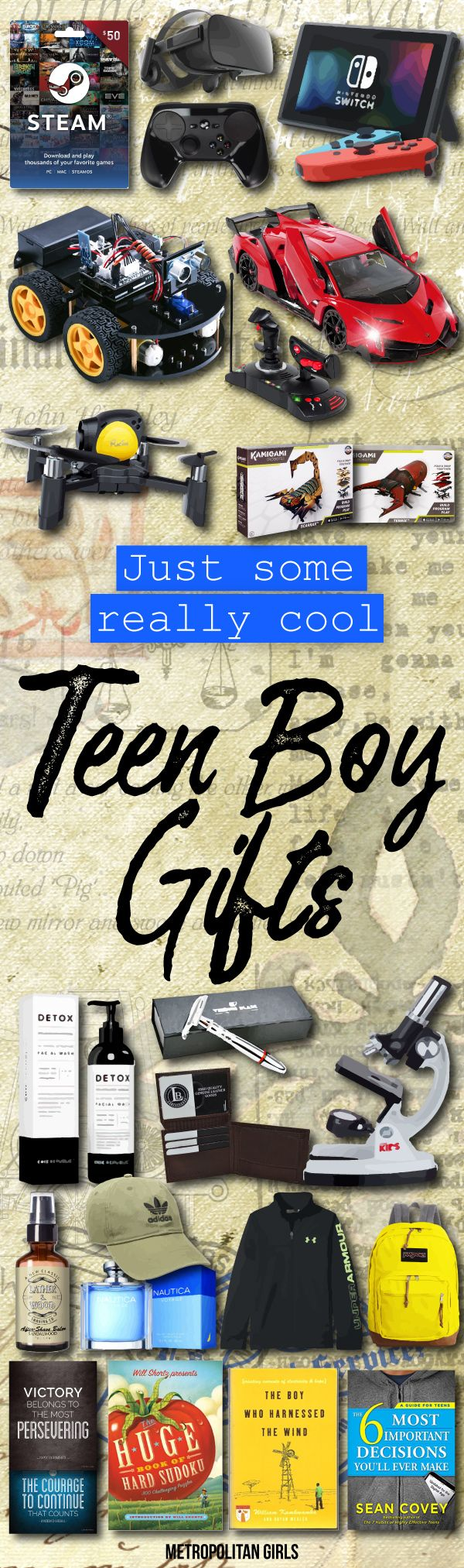 Teen Boy Gifts | Gift ideas. | Pinterest | Gifts for teen boys ...