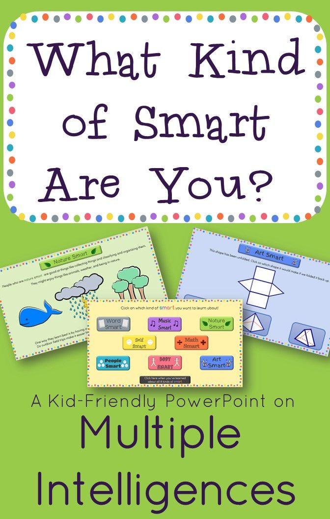 Multiple Intelligences Interactive PowerPoint | Classroom
