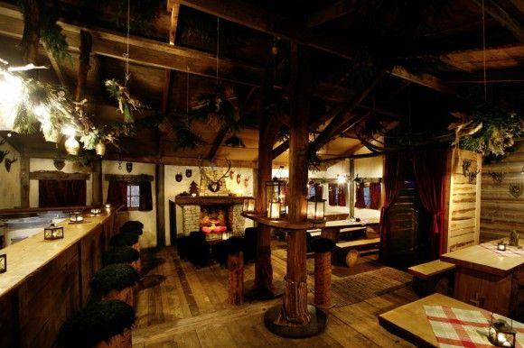 rustic bavarian interior design
