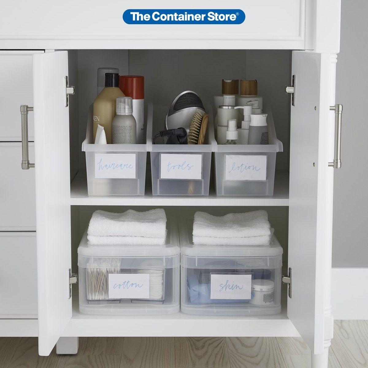 Undersink Bathroom Storage Pictured Iris Connecting Storage Bins Item 10076099 Small Tint Undersink Bathroom Storage Storage Bins With Lids Toy Storage