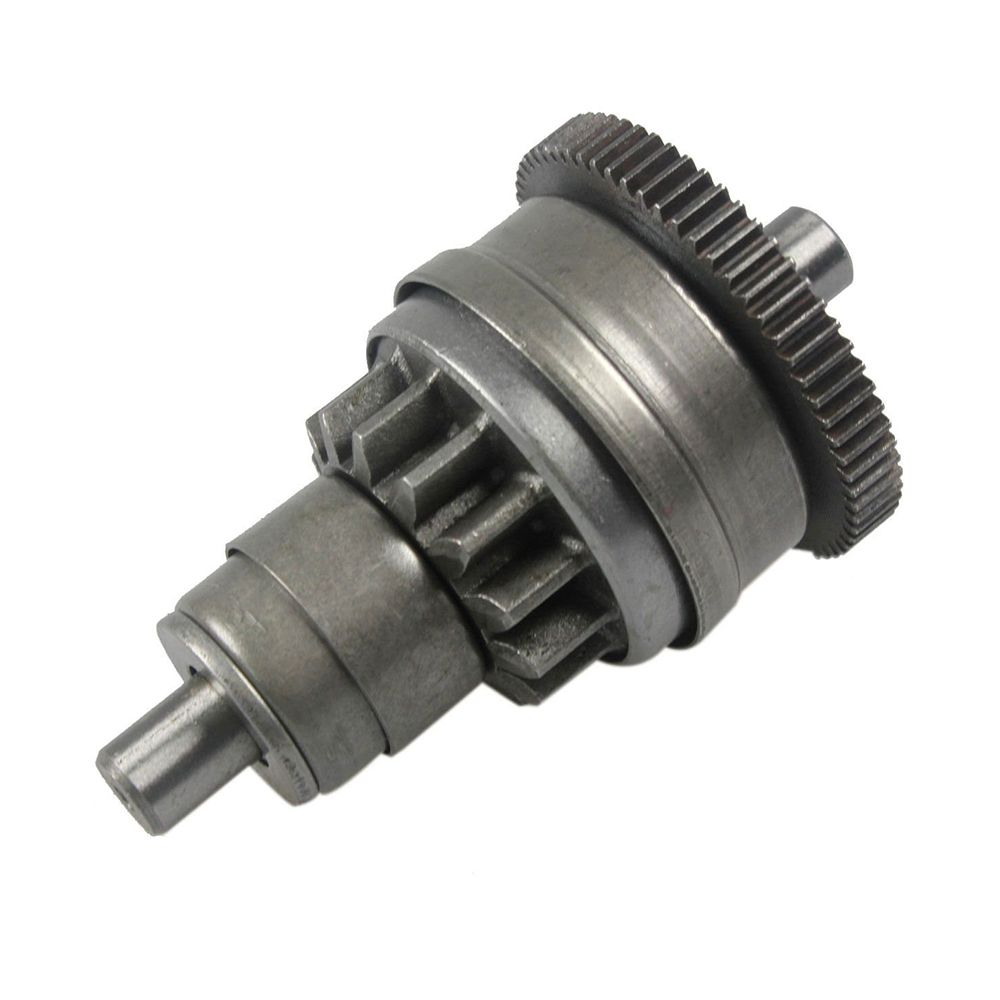gy6 49cc 50cc motor assy start clutch pedal start motor gear head beyond equivalent 139qmb relay scooter karts moped [ 1000 x 1000 Pixel ]
