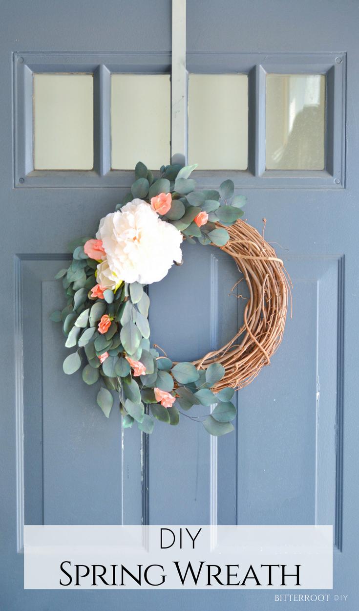 Photo of Eucalyptus spring wreath |