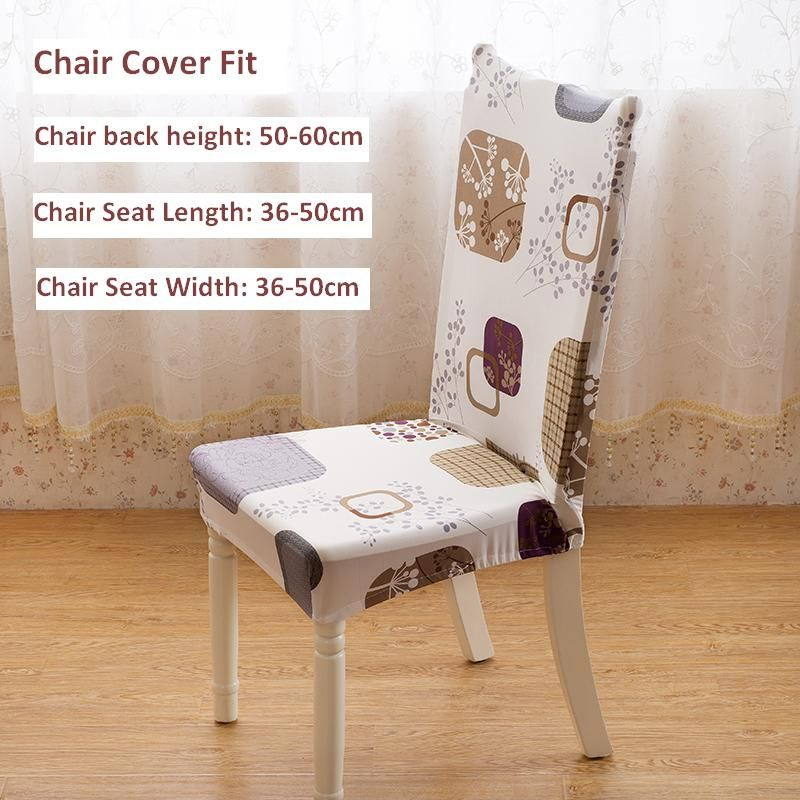 Universal chair cover super elastic restaurant chair cover office ...
