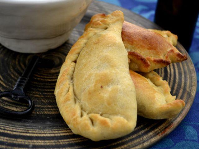 Empanadas på tre olika sätt (kock Ernst Kirchsteiger)