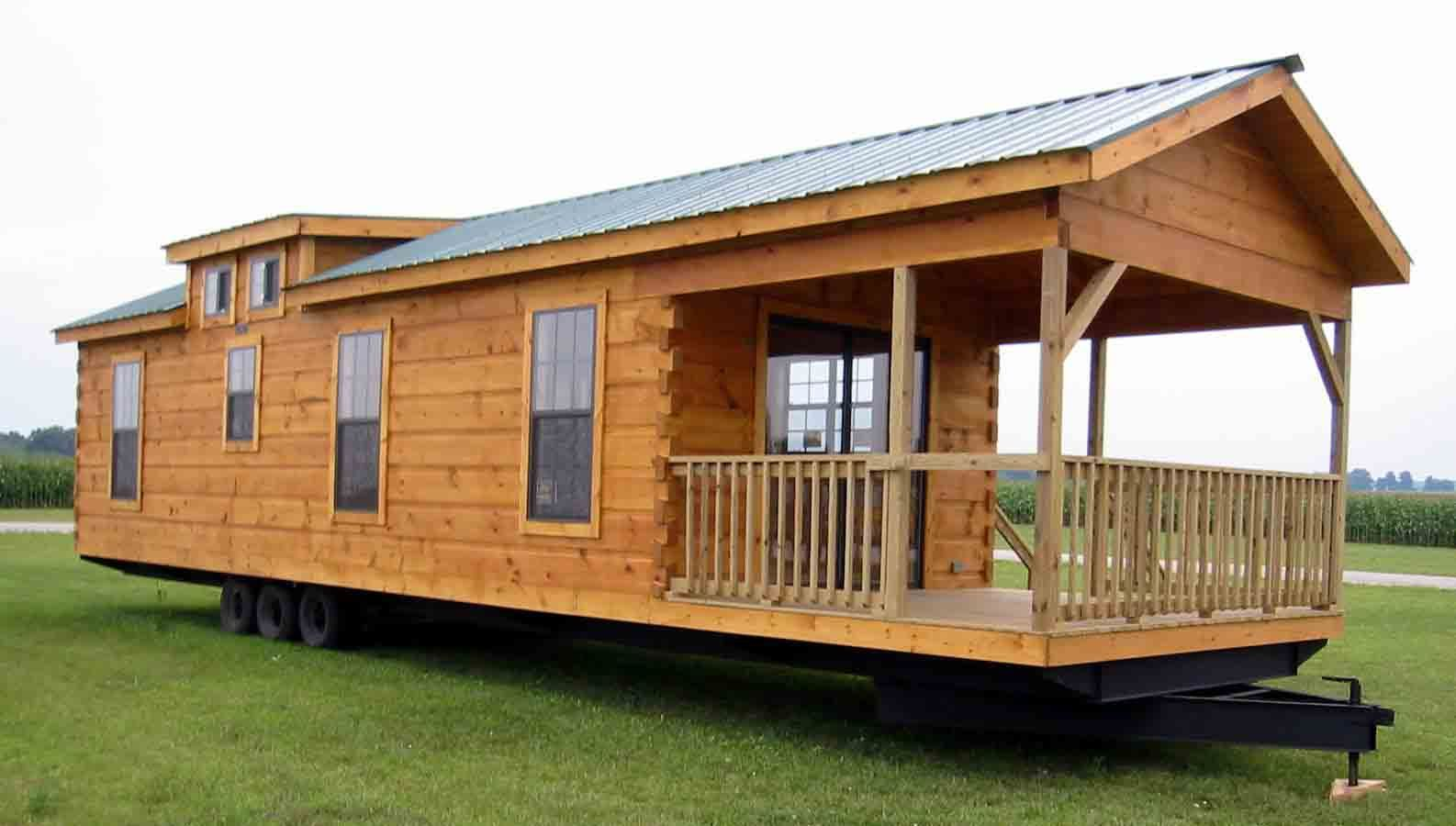 tiny houses just needs the right setting and landscapinglog cabin 2 go is a - Small Cabins For Sale 2