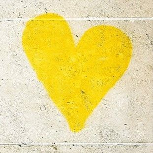 Pin By Vj Cast On Aesthetic Yellow Colour Texture Yellow Heart Yellow Color