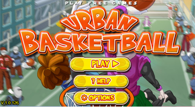 Play in street basketball tournaments across the the