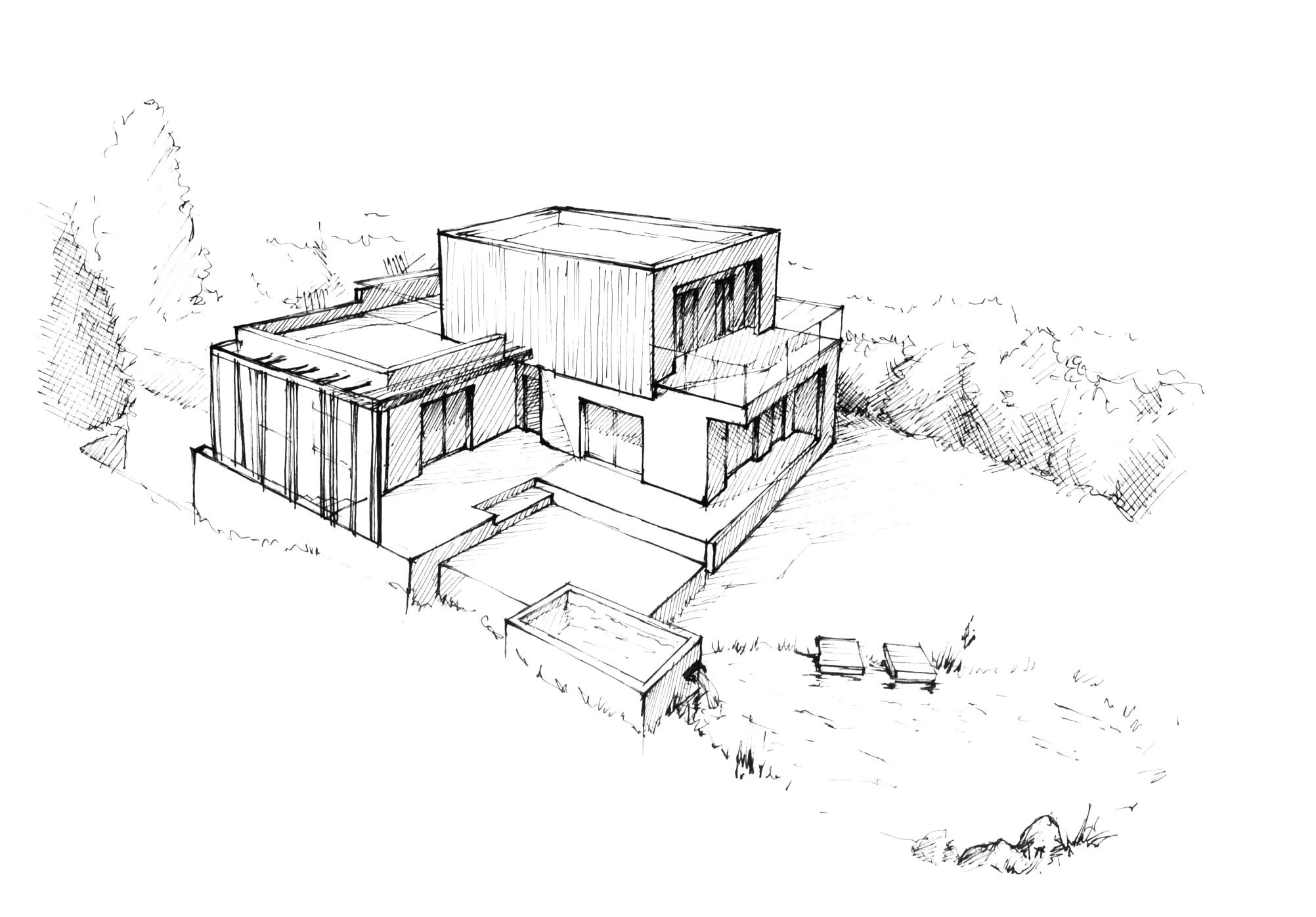 House In Perspective Drawing Idees Coloring Pages Abstract Coloring Pages Designs Coloring Books