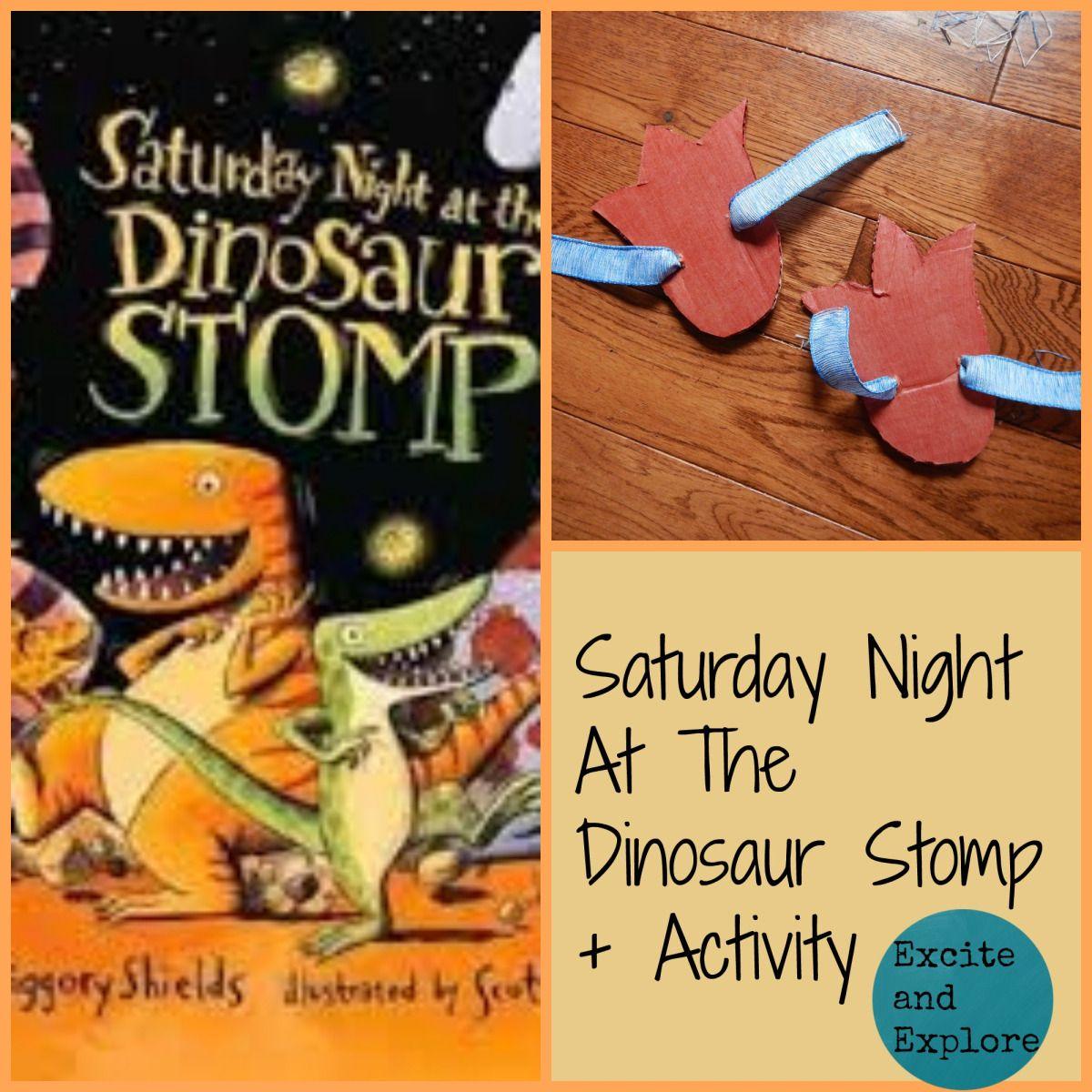 Saturday Night At The Dinosaur Stomp Activity