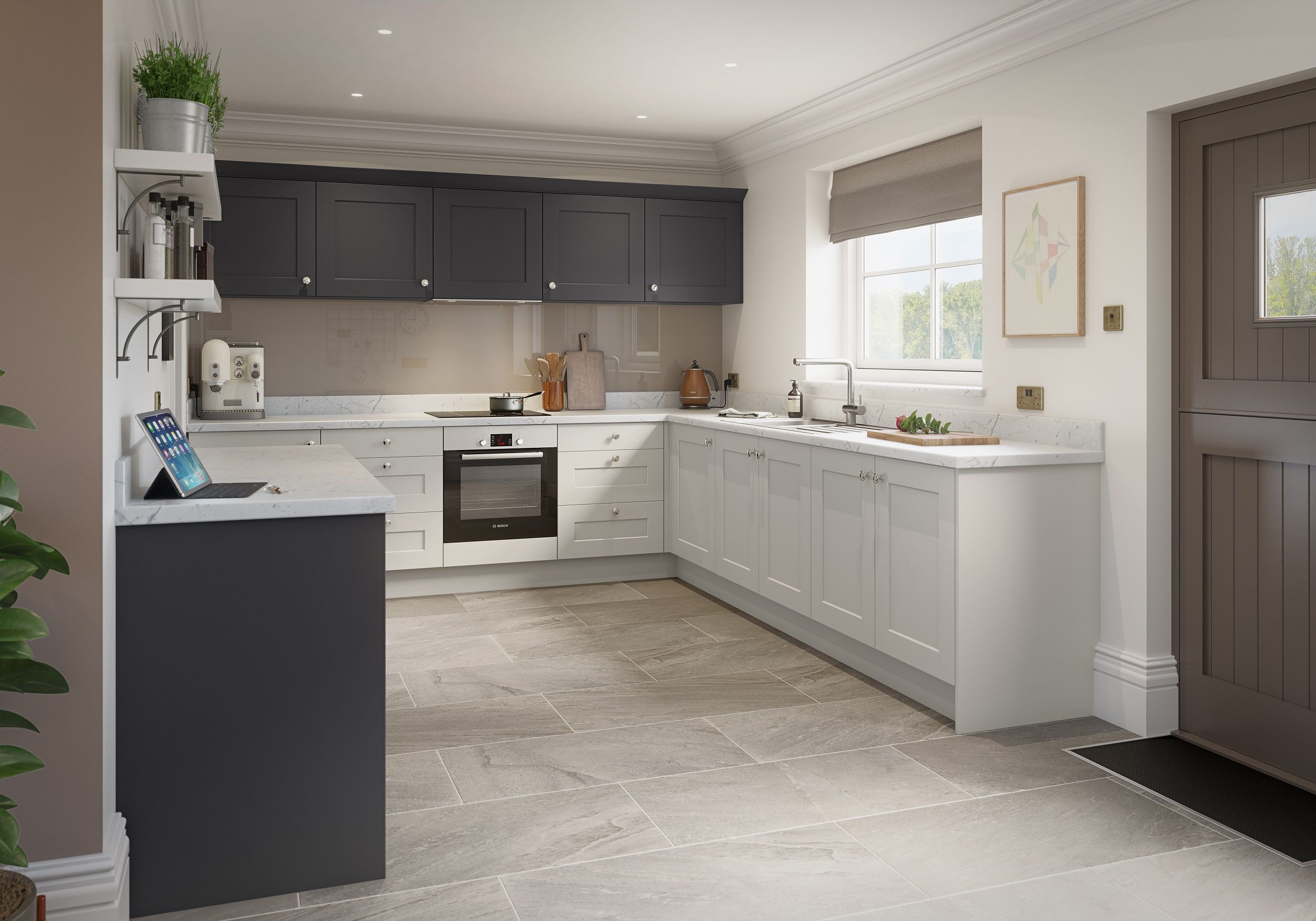 Richmond Kitchen Collection Graphite & Porcelain in 2020