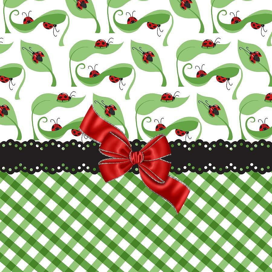 Pin By Nivea Melo On Pattern Ladybug Ladybug Baby Shower Scrapbook Images