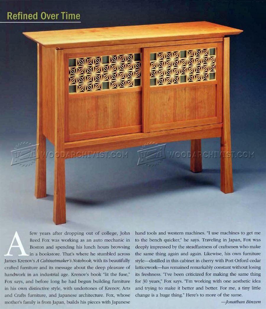 japanese wood furniture plans. Japanese Lattice - Finishing And Decoration Wood Furniture Plans P