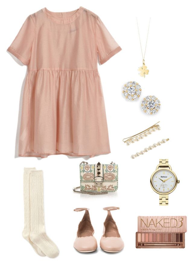 """""""Untitled #107"""" by xcgirl113 on Polyvore featuring Chloé, Tiffany & Co., Valentino, Kate Spade, Hue, Barbour, Urban Decay, J.Crew, women's clothing and women"""