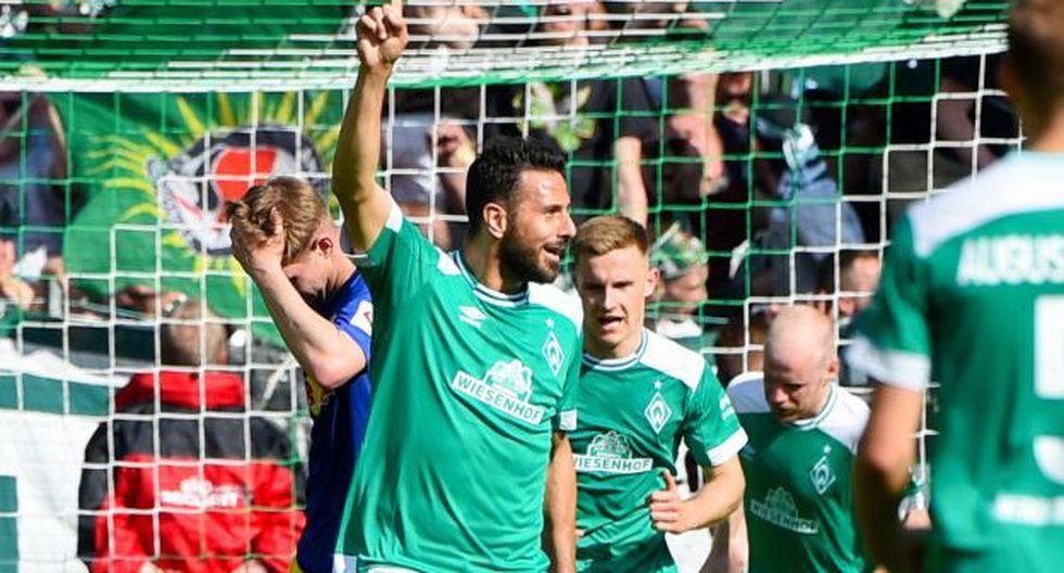 Werder Bremen vs. Heidenheim EN VIVO Claudio Pizarro 02/07