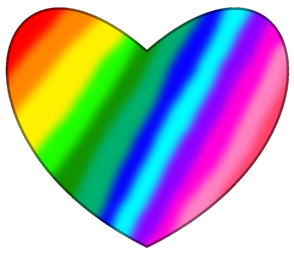 New Rainbow Heart Assets By Thedrksiren D7kh6py Png 1024 885 Rainbow Heart Rainbow Heart