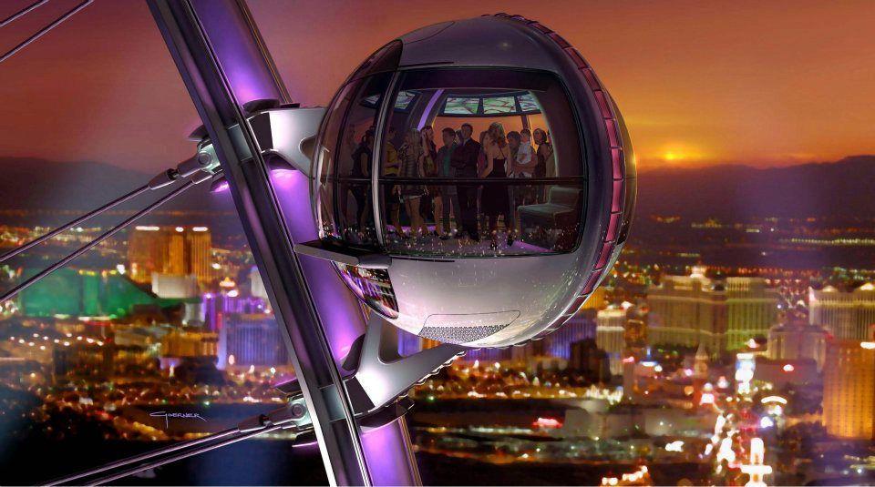 LINQ wheel Las Vegas
