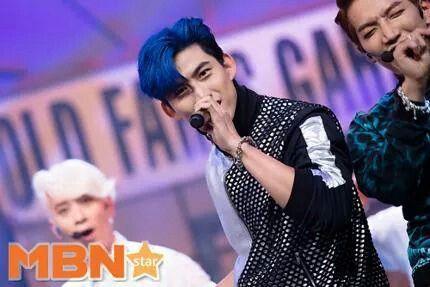 Taecyeon   2PM Comeback stage on MCountdown 09.11.2014  2pm 2014 Comeback