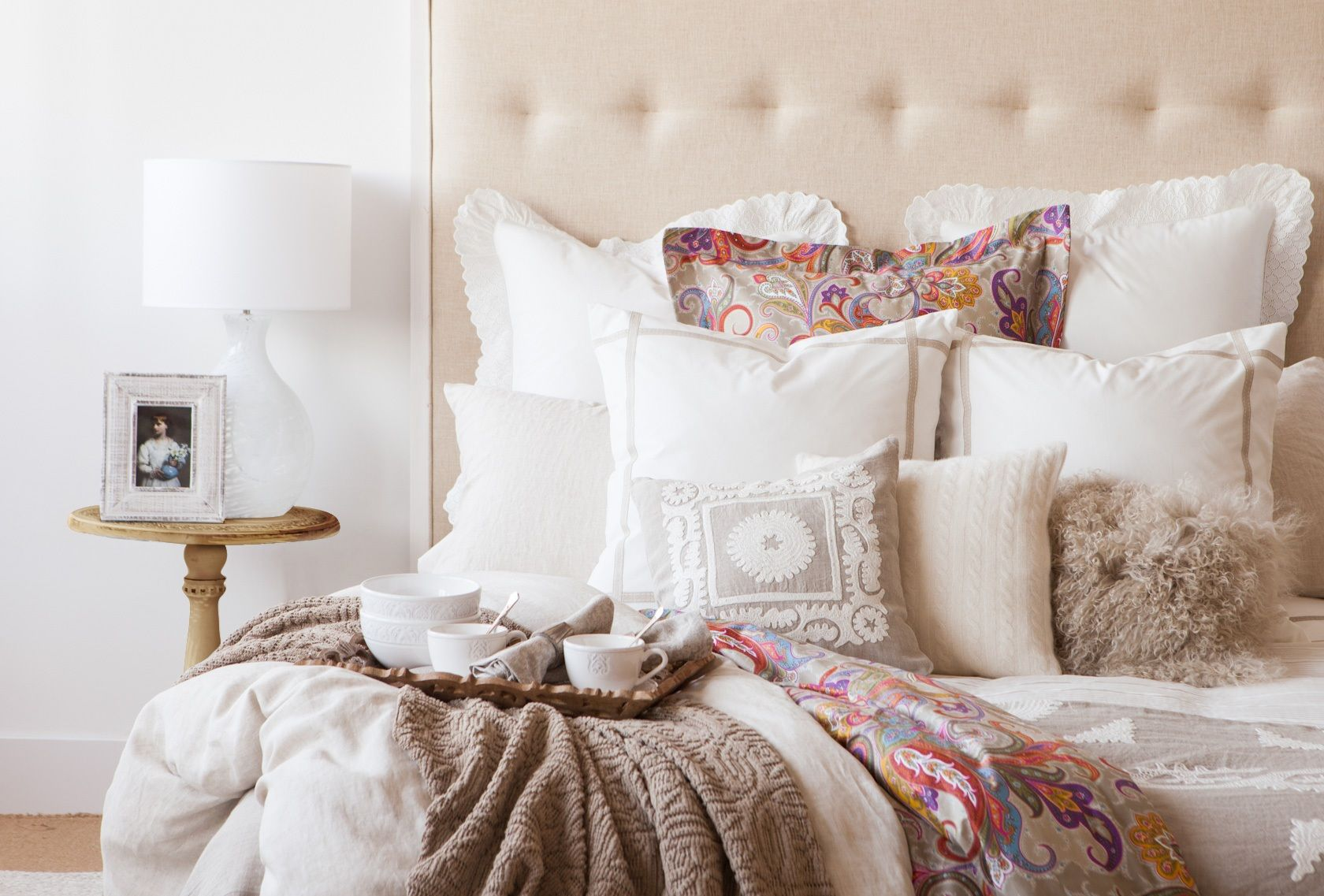 lit zara home france nuits calines pinterest nuit chambres et idee deco. Black Bedroom Furniture Sets. Home Design Ideas