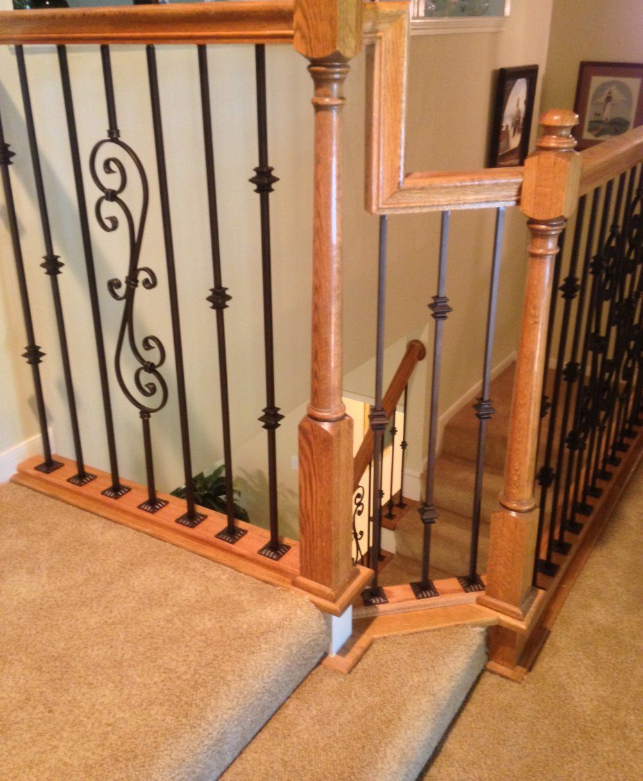 Best The West Residence West Home Iron Balusters Stair Railing 400 x 300