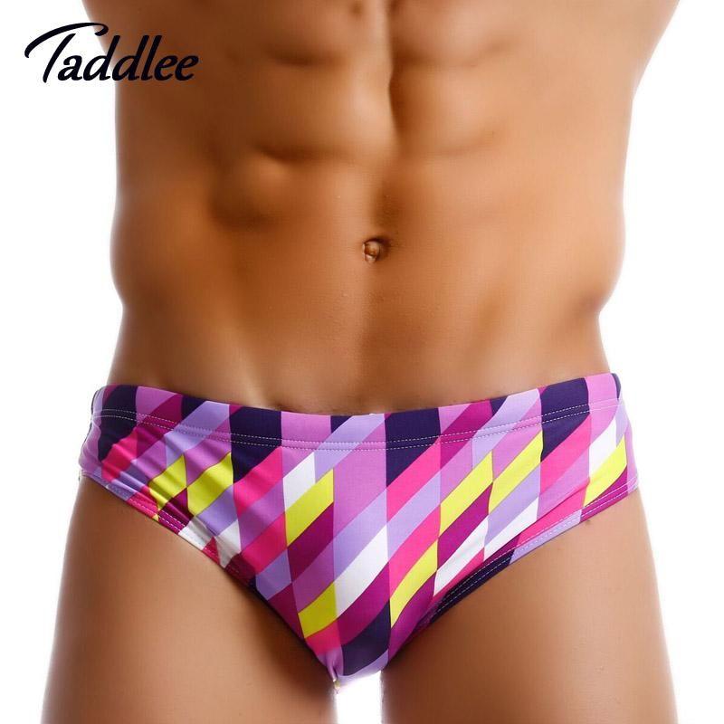 5f6cfb9a51483 Taddlee Brand Mens Swimwear Swimsuits Swimming Briefs Bikini Gay Pouch WJ  Men Surfing Swim Boxer Trunks Shorts Surf Board Shorts.