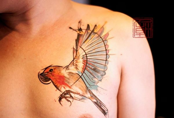 asian art tattoomodels tattoo astonishing bird tattoos pinterest art bird tattoos and birds. Black Bedroom Furniture Sets. Home Design Ideas