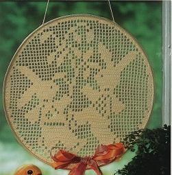 Coelhinhos De Croche Ozdoby Na Kółku Pinterest Fensterbilder