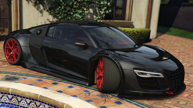Gta 5 Audi R8 Lms Street Custom Mod Gtainside Com Audi Audi R8 Luxury Cars