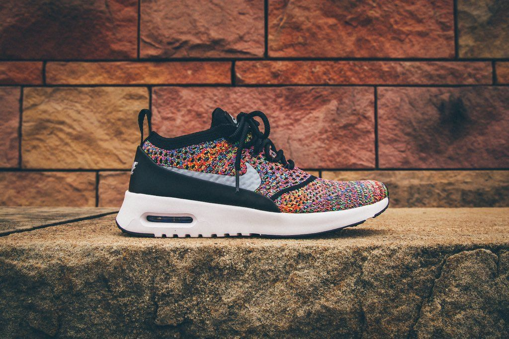 NIKE AIR MAX THEA ULTRA FLYKNIT MULTICOLOR RAINBOW 881175