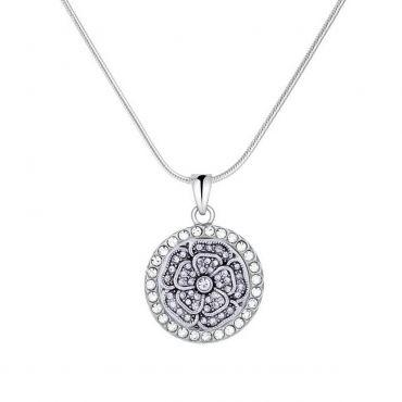 #Crystalflower #necklace #pendant