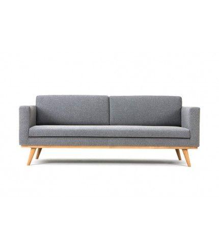 Charmant 3 Sitzer Sofa   Skandinavisches Design Zum Fairen Preis