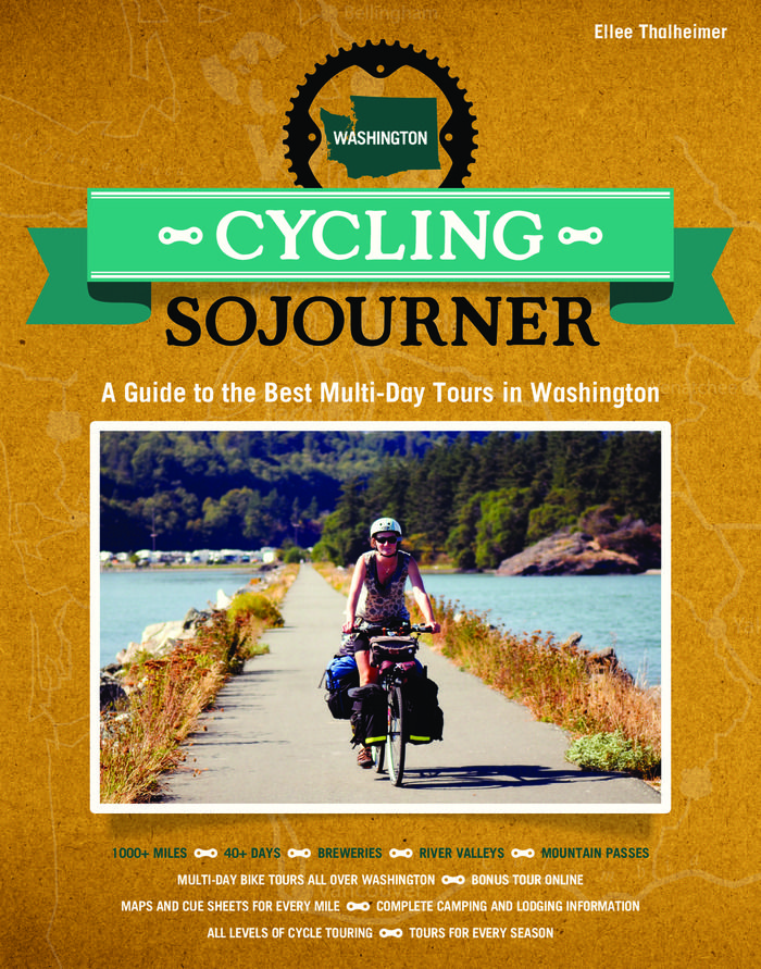 The Washington version of Cycling Sojourner is the first book in over a decade to focus on multi-day bike tours in the Evergreen State and will benefit statewide bike advocacy.